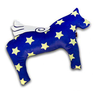Buy MIDNIGHT Creative Pony Shaped Design Throw Pillow for $24.34 in GearBest store