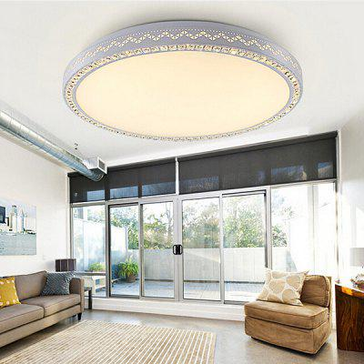 Cozy Style Round Shape Ceiling Light 220VFlush Ceiling Lights<br>Cozy Style Round Shape Ceiling Light 220V<br><br>Features: Round Shape, Remote-Controlled<br>Illumination Field: 15 - 20sqm<br>Luminous Flux: 5000lm<br>Optional Light Color: Natural White,Warm White + White<br>Package Contents: 1 x Ceiling Light, 1 x Set of Install Accessory, 1 x Remote Controller<br>Package size (L x W x H): 70.00 x 70.00 x 15.00 cm / 27.56 x 27.56 x 5.91 inches<br>Package weight: 8.0500 kg<br>Product size (L x W x H): 65.00 x 65.00 x 10.00 cm / 25.59 x 25.59 x 3.94 inches<br>Product weight: 7.0000 kg<br>Sheathing Material: Acrylic<br>Type: Ceiling Lights<br>Voltage (V): 220V<br>Wattage (W): &gt;20<br>Wavelength / CCT: 3000K,4000K,6500K