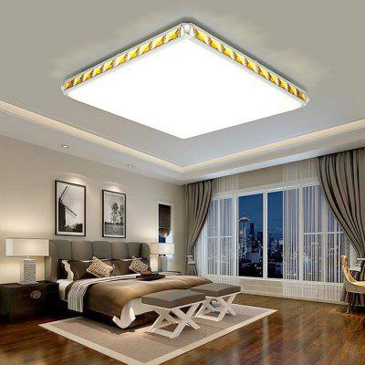 Square Shape Crystal Aluminium LED Ceiling Light 220VFlush Ceiling Lights<br>Square Shape Crystal Aluminium LED Ceiling Light 220V<br><br>Illumination Field: 15 - 25sqm<br>Luminous Flux: 3000lm<br>Optional Light Color: Natural White,Warm White + White<br>Package Contents: 1 x Ceiling Light, 1 x Set of Install Accessory, 1 x Romote Controller<br>Package size (L x W x H): 56.00 x 56.00 x 15.00 cm / 22.05 x 22.05 x 5.91 inches<br>Package weight: 6.0500 kg<br>Product size (L x W x H): 46.00 x 46.00 x 11.00 cm / 18.11 x 18.11 x 4.33 inches<br>Product weight: 5.0000 kg<br>Sheathing Material: PMMA<br>Type: Ceiling Lights<br>Voltage (V): 220V<br>Wattage (W): 36W<br>Wavelength / CCT: 3000K,4000K,6500K