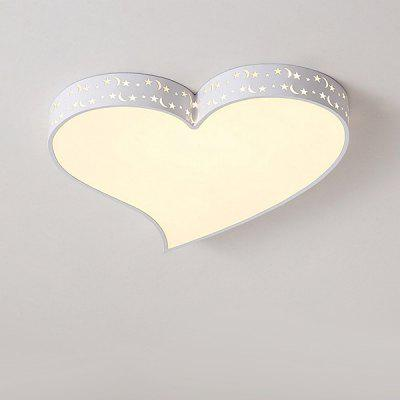 modern heart shape led ceiling light 220v online