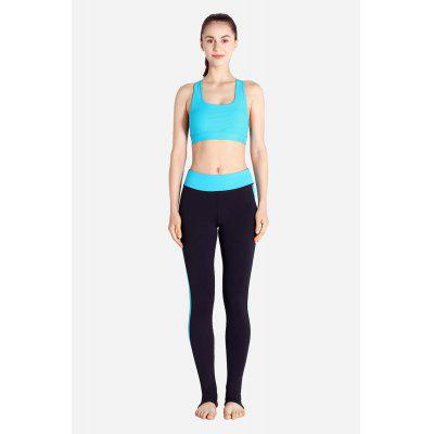 Sports Stirrup Quick Dry Yoga Training Pants for Women