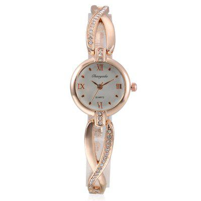 CYD Chaoyada 8015 Women Chain WatchWomens Watches<br>CYD Chaoyada 8015 Women Chain Watch<br><br>Band material: Steel + Alloy<br>Band size: 19.7 x 0.6cm<br>Case material: Steel<br>Clasp type: Sheet folding clasp<br>Dial size: 2.5 x 2.5 x 0.7cm<br>Display type: Analog<br>Movement type: Quartz watch<br>Package Contents: 1 x Watch, 1 x Box<br>Package size (L x W x H): 8.50 x 8.00 x 5.50 cm / 3.35 x 3.15 x 2.17 inches<br>Package weight: 0.0830 kg<br>Product size (L x W x H): 19.70 x 2.50 x 0.70 cm / 7.76 x 0.98 x 0.28 inches<br>Product weight: 0.0270 kg<br>Shape of the dial: Round<br>Watch style: Fashion<br>Watches categories: Women<br>Water resistance : Life water resistant