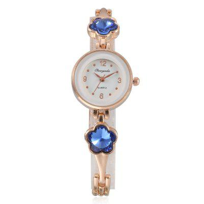 CYD Chaoyada 8012 Elegant Women Chain WatchWomens Watches<br>CYD Chaoyada 8012 Elegant Women Chain Watch<br><br>Band material: Steel + Alloy<br>Band size: 19.5 x 0.6cm<br>Case material: Steel<br>Clasp type: Sheet folding clasp<br>Dial size: 2.5 x 2.5 x 0.8cm<br>Display type: Analog<br>Movement type: Quartz watch<br>Package Contents: 1 x Watch, 1 x Box<br>Package size (L x W x H): 8.50 x 8.00 x 5.50 cm / 3.35 x 3.15 x 2.17 inches<br>Package weight: 0.0830 kg<br>Product size (L x W x H): 19.50 x 2.50 x 0.80 cm / 7.68 x 0.98 x 0.31 inches<br>Product weight: 0.0260 kg<br>Shape of the dial: Round<br>Watch style: Fashion<br>Watches categories: Women<br>Water resistance : Life water resistant
