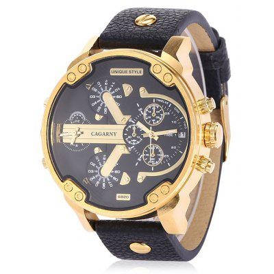 CAGARNY 6820 Quartz Men Wristwatch
