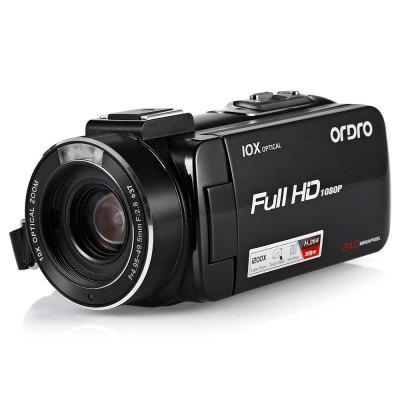 Ordro HDV - Z82 Digital Video Camera 1080PCamcorders<br>Ordro HDV - Z82 Digital Video Camera 1080P<br><br>Battery Capacity (mAh?: 1250<br>Brand: Ordro<br>Charging Time: 3 hours<br>Digital zoom: 120X<br>External memory storage(Maximum, not included): SD card up to 64GB<br>FOV: 120 degrees<br>LED light: Built-in<br>Memory support : SD card<br>Microphone: Built-in<br>Other Functions: Face Detection, Remote Control, DIS intelligent anti-shake<br>Package Contents: 1 x Camera, 1 x USB Cable, 1 x HDMI Cable, 1 x Remote Controller, 1 x DV Package, 1 x Charger, 1 x Lithium-ion battery, 1 x English / Chinese Instruction, 1 x Lens Cap<br>Package size (L x W x H): 20.50 x 11.00 x 17.00 cm / 8.07 x 4.33 x 6.69 inches<br>Package weight: 0.8500 kg<br>Product size (L x W x H): 12.60 x 5.80 x 6.10 cm / 4.96 x 2.28 x 2.4 inches<br>Product weight: 0.7490 kg<br>Screen resolution: 1280 x 720 (HD 720),1920 x 1080 (FHD),640 x 480 (VGA)<br>Screen size: 3.0 inch<br>Screen size (inch): 3<br>Screen type: TFT<br>Sensor: CMOS<br>Standby time: 7 days<br>Storage medium: Other<br>Touch screen: Yes<br>Video Frame Rate: 30FPS<br>Working Time: 80min