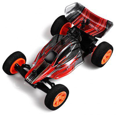 Gearbest ZINGO RACING 9115 1:32 Micro RC Off-road Car - RTR - RED 20km/h Fast Speed / Impact-resistant PVC Shell / Drifting