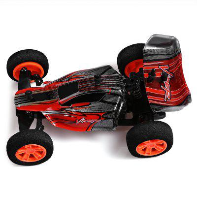 ZINGO RACING 9115 1:32 Micro RC Off-road Car - RTRRC Cars<br>ZINGO RACING 9115 1:32 Micro RC Off-road Car - RTR<br><br>Battery Information: 3.7V 120mAh lithium-ion<br>Car Power: Built-in rechargeable battery<br>Detailed Control Distance: About 30m<br>Drive Type: RWD ( rear-wheel drive )<br>Features: Radio Control<br>Material: Electronic Components, POM, PVC, ABS<br>Motor Type: Brushed Motor<br>Package Contents: 1 x RC Car ( Battery Included ), 1 x Transmitter, 1 x USB Cable, 1 x English Manual<br>Package size (L x W x H): 26.50 x 17.50 x 10.20 cm / 10.43 x 6.89 x 4.02 inches<br>Package weight: 0.3446 kg<br>Product size (L x W x H): 11.00 x 7.50 x 4.80 cm / 4.33 x 2.95 x 1.89 inches<br>Product weight: 0.0280 kg<br>Proportion: 1:32<br>Racing Time: About 15mins<br>Remote Control: 2.4GHz Wireless Remote Control<br>Speed: 20km/h ( maximum )<br>Transmitter Power: 2 x 1.5V AA battery (not included)<br>Type: Off-Road Car