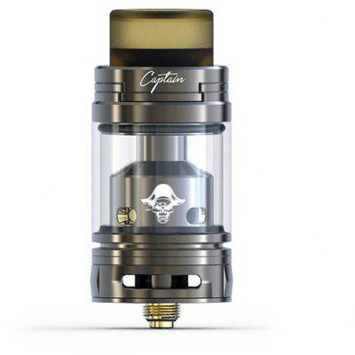 IJOY Captain RTA 3.8ml  –  GUN METAL  Best Review 2017 and Coupon Code