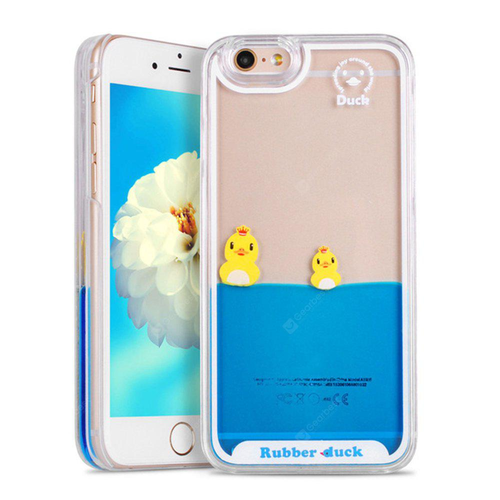 Dynamic Liquid Swimming Duck Phone Case pour iPhone 6 / 6s