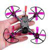 ASUAV F100 100mm Mini RC FPV Racing Drone - PURPLE
