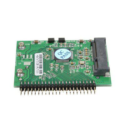 mSATA Mini PCI-E SSD to 1.8 inch 44-pin IDE Adapter