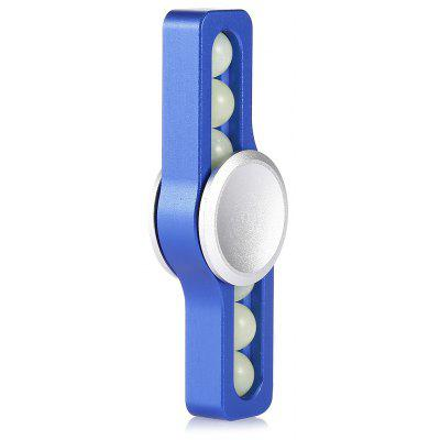 Luminous Bead Two-blade ADHD Fidget Spinner
