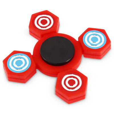 Four-blade ABS Fidget SpinnerFidget Spinners<br>Four-blade ABS Fidget Spinner<br><br>Center Bearing Material: Stainless Steel<br>Color: Red<br>Frame material: ABS<br>Package Contents: 1 x Fidget Spinner<br>Package size (L x W x H): 9.00 x 9.00 x 1.50 cm / 3.54 x 3.54 x 0.59 inches<br>Package weight: 0.0550 kg<br>Product size (L x W x H): 6.80 x 6.80 x 1.30 cm / 2.68 x 2.68 x 0.51 inches<br>Product weight: 0.0310 kg<br>Swing Numbers: Quad Bar<br>Type: Quad  Blade
