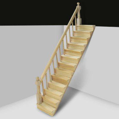 1:12 Scale Wooden StairsPretend Play<br>1:12 Scale Wooden Stairs<br><br>Age: Above 3 Years<br>Material: Wood<br>Package Contents: 1 x Wooden Staircase<br>Package size (L x W x H): 30.00 x 8.00 x 9.00 cm / 11.81 x 3.15 x 3.54 inches<br>Package weight: 0.0950 kg<br>Product size (L x W x H): 28.00 x 6.70 x 7.00 cm / 11.02 x 2.64 x 2.76 inches<br>Product weight: 0.0500 kg<br>Type: Pretend Play