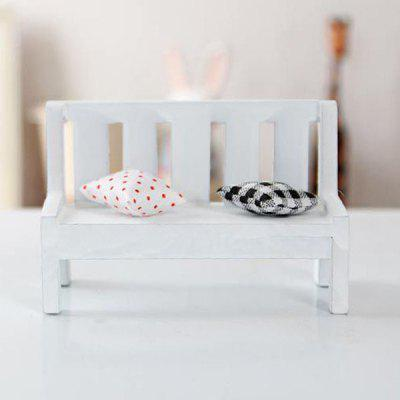 Cute Wooden Outdoor BenchPretend Play<br>Cute Wooden Outdoor Bench<br><br>Age: Above 3 Years<br>Material: Wood<br>Package Contents: 1 x Wooden Bench ( with 2 Pillows ), 1 x Wooden Bench ( with 2 Pillows )<br>Package size (L x W x H): 12.00 x 7.00 x 9.00 cm / 4.72 x 2.76 x 3.54 inches, 12.00 x 7.00 x 9.00 cm / 4.72 x 2.76 x 3.54 inches<br>Package weight: 0.0740 kg<br>Product size (L x W x H): 10.70 x 5.00 x 7.00 cm / 4.21 x 1.97 x 2.76 inches, 10.70 x 5.00 x 7.00 cm / 4.21 x 1.97 x 2.76 inches<br>Product weight: 0.0500 kg<br>Type: Ornament