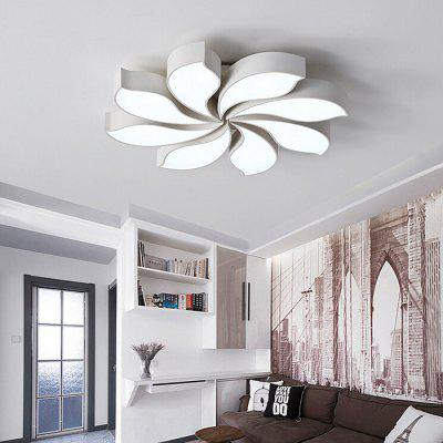 Flower-Shaped LED Ceiling Lamp