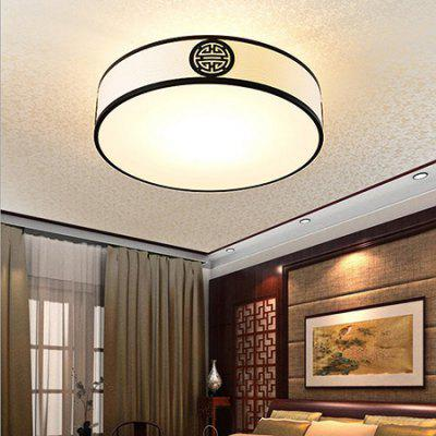 Fashion Chinese Style Iron Ceiling Light 220VFlush Ceiling Lights<br>Fashion Chinese Style Iron Ceiling Light 220V<br><br>Illumination Field: 10 - 15sqm<br>Package Contents: 1 x Ceiling Light, 1 x Set of Install Accessory<br>Package size (L x W x H): 55.00 x 55.00 x 25.00 cm / 21.65 x 21.65 x 9.84 inches<br>Package weight: 5.0500 kg<br>Product size (L x W x H): 45.00 x 45.00 x 20.00 cm / 17.72 x 17.72 x 7.87 inches<br>Product weight: 4.0000 kg<br>Sheathing Material: Iron, Brushed Fabric<br>Type: Ceiling Lights<br>Voltage (V): 220V