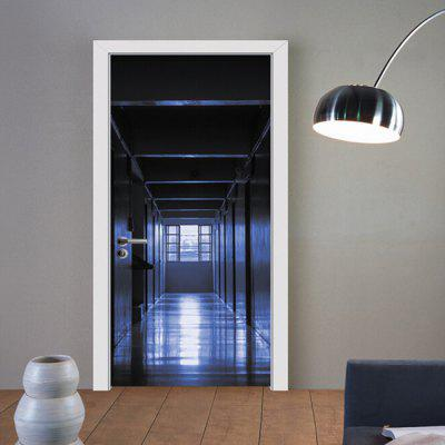 MT030 3D Self Adhesive Silent Corridor Aisle Door Sticker
