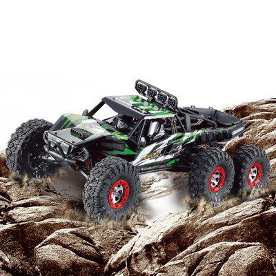 FEIYUE FY06 1:12 2.4GHz 6WD RC Off-road Desert Truck - RTRRC Cars<br>FEIYUE FY06 1:12 2.4GHz 6WD RC Off-road Desert Truck - RTR<br><br>Brand: FEIYUE<br>Car Power: Built-in rechargeable battery<br>Detailed Control Distance: 80M<br>Drive Type: 6 WD<br>Features: Radio Control<br>Material: Electronic Components, Metal, Plastic, TPR<br>Motor Type: Brushless Motor<br>Package Contents: 1 x RC Truck, 1 x Transmitter, 1 x Charger<br>Package size (L x W x H): 55.00 x 30.00 x 23.00 cm / 21.65 x 11.81 x 9.06 inches<br>Package weight: 3.2500 kg<br>Product size (L x W x H): 43.00 x 25.00 x 22.00 cm / 16.93 x 9.84 x 8.66 inches<br>Product weight: 3.0000 kg<br>Proportion: 1:12<br>Racing Time: About 25mins<br>Remote Control: 2.4GHz Wireless Remote Control<br>Transmitter Power: 4 x 1.5V AA (not included)<br>Type: Off-Road Car