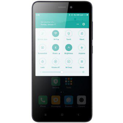 Xiaomi Redmi 4A 4G SmartphoneCell phones<br>Xiaomi Redmi 4A 4G Smartphone<br><br>2G: GSM B2/B3/B5/B8<br>3G: WCDMA B1/B2/B5/B8<br>4G: FDD-LTE Band 1/3/7<br>Additional Features: Gravity Sensing, GPS, Browser, Bluetooth, Alarm, 3G, Wi-Fi, Light Sensing, MP3, 4G, Proximity Sensing, People, OTG, MP4<br>Aperture: f/2.2<br>Auto Focus: Yes<br>Back camera: with flash light, 13.0MP<br>Battery Capacity (mAh): 3120mAh?typ?/ 3030mAh?min?( Output 5V/1A )<br>Battery Type: Non-removable<br>Battery Volatge: 4.4V<br>Bluetooth Version: V4.1<br>Brand: Xiaomi<br>Camera Functions: Face Detection, Face Beauty, HDR, Panorama Shot<br>Camera type: Dual cameras (one front one back)<br>CDMA: CDMA 2000/1X BC0<br>Cell Phone: 1<br>Cores: Quad Core, 1.4GHz<br>CPU: Qualcomm Snapdragon 425<br>External Memory: TF card up to 128GB (not included)<br>Flashlight: Yes<br>Front camera: 5.0MP<br>GPU: Adreno 308<br>I/O Interface: Micro USB Slot, 1 x Micro SIM Card Slot, 1 x Nano SIM Card Slot, TF/Micro SD Card Slot<br>Language: Indonesian, Malay, German, English, Spanish, French, Italian, Hungarian, Uzbek, Polish, Portuguese, Romanian, Slovenian, Vietnamese, Turkish, Czech,  Greek, Russian, Hindi, Ukrainian, Marathi, Bengali<br>Music format: WMA, WAV, OGG, MP3, FLAC, AMR, AAC<br>Network type: GSM+CDMA+WCDMA+TD-SCDMA+FDD-LTE+TD-LTE<br>OS: MIUI 8<br>OTG : Yes<br>Package size: 14.80 x 8.00 x 4.00 cm / 5.83 x 3.15 x 1.57 inches<br>Package weight: 0.3400 kg<br>Picture format: BMP, PNG, GIF, JPEG<br>Power Adapter: 1<br>Product size: 13.95 x 7.04 x 0.85 cm / 5.49 x 2.77 x 0.33 inches<br>Product weight: 0.1310 kg<br>RAM: 2GB RAM<br>ROM: 16GB<br>Screen resolution: 1280 x 720 (HD 720)<br>Screen size: 5.0 inch<br>Screen type: Capacitive<br>Sensor: Accelerometer,Ambient Light Sensor,Gravity Sensor,Gyroscope,Infrared,Proximity Sensor<br>Service Provider: Unlocked<br>SIM Card Slot: Dual SIM, Dual Standby<br>SIM Card Type: Nano SIM Card, Micro SIM Card<br>SIM Needle: 1<br>TD-SCDMA: TD-SCDMA B34/B39<br>TDD/TD-LTE: TD-LTE B3