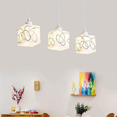 E27 3 Lights Simple Glass Pendant LightingPendant Light<br>E27 3 Lights Simple Glass Pendant Lighting<br><br>Battery Included: No<br>Bulb Base: E27<br>Bulb Included: No<br>Chain / Cord Length ( CM ): 100cm<br>Features: Designers<br>Fixture Height ( CM ): 12cm<br>Fixture Length ( CM ): 24cm<br>Fixture Width ( CM ): 11cm<br>Light Direction: Ambient Light<br>Number of Bulb: 3 Bulbs<br>Number of Bulb Sockets: 3<br>Package Contents: 3 x Pendant Light, 1 x Installation Component Kit<br>Package size (L x W x H): 45.00 x 45.00 x 23.00 cm / 17.72 x 17.72 x 9.06 inches<br>Package weight: 3.0300 kg<br>Product weight: 2.5000 kg<br>Shade Material: Glass, Iron<br>Style: Modern/Contemporary<br>Suggested Room Size: 5 - 10?<br>Suggested Space Fit: Indoors<br>Type: Pendant Light<br>Voltage ( V ): AC220