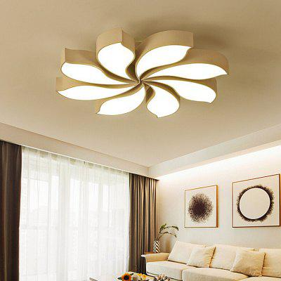 Modern Simple Remote Control Ceiling Lamp 220V