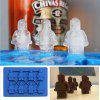 Robotic Silicone Cookie Chocolate Ice Cube Mould - BLUE