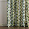 Ink-jet Printing Wavy Pattern Window Curtains 52 x 84 inch - COLORMIX