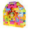 Parc d'attractions 104pcs Grand Bloc de Construction en Plastique - MULTICOLORE