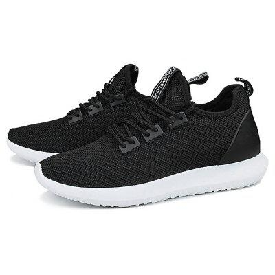Breathable Lace-up Sports Shoes for Men