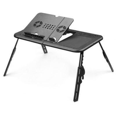 Adjustable USB Notebook PC Table Stand Folding Laptop Desk