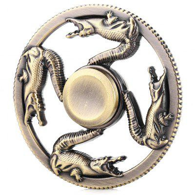 Retro Crocodile Zinc Alloy ADHD Fidget Spinner