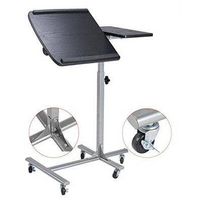 Charmant Laptop Desk Computer Stand Table Computer Cart With Wheels