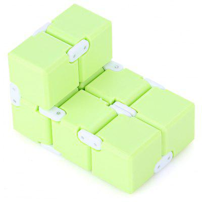 Candy Color Weighted Infinity Cube Fidget Toy