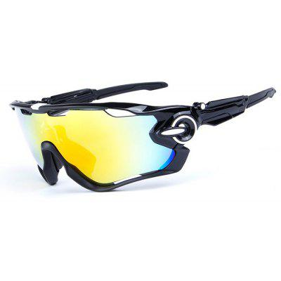 Buy BLACK OBAOLAY O9270 3-replacement-lens Polarized Cycling Glasses for $17.87 in GearBest store