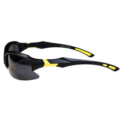 Buy YELLOW AND BLACK WOLFBIKE BYJ 014 Protective Polarized Cycling Glasses Set for $9.33 in GearBest store