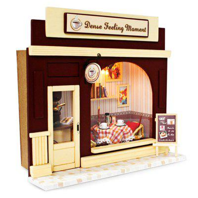 Wooden Coffee Shop DIY KitDoll House<br>Wooden Coffee Shop DIY Kit<br><br>Completeness: Semi-finished Product<br>Gender: Unisex<br>Materials: Electronic Components, Wood, Other<br>Package Contents: 1 x Miniature Shop DIY Kit<br>Package size: 21.00 x 21.00 x 10.00 cm / 8.27 x 8.27 x 3.94 inches<br>Package weight: 0.6800 kg<br>Product size: 20.00 x 8.00 x 20.00 cm / 7.87 x 3.15 x 7.87 inches<br>Product weight: 0.4000 kg<br>Theme: Other