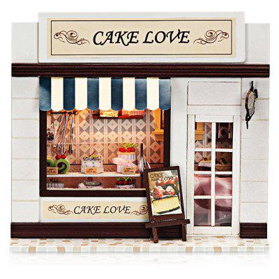 Wooden Cake Shop DIY Kit