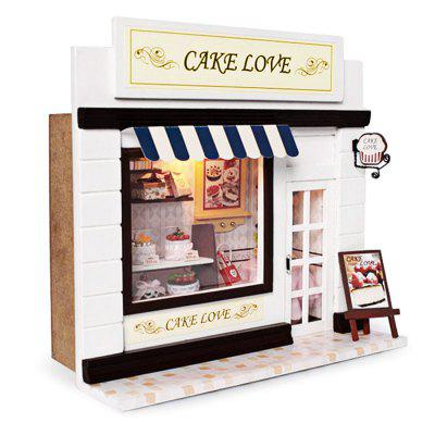 Wooden Cake Shop DIY KitDoll House<br>Wooden Cake Shop DIY Kit<br><br>Completeness: Semi-finished Product<br>Gender: Unisex<br>Materials: Electronic Components, Wood, Other<br>Package Contents: 1 x Miniature Shop DIY Kit<br>Package size: 22.00 x 9.00 x 20.00 cm / 8.66 x 3.54 x 7.87 inches<br>Package weight: 0.6800 kg<br>Product size: 20.00 x 7.00 x 18.00 cm / 7.87 x 2.76 x 7.09 inches<br>Product weight: 0.4000 kg<br>Theme: Other