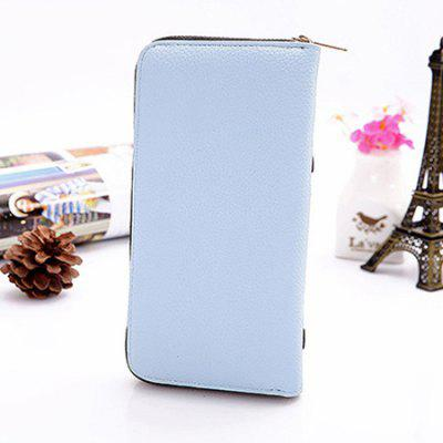Cute Zipper Wallet for WomenWallets<br>Cute Zipper Wallet for Women<br><br>Closure Type: Zip<br>Material: PU<br>Package Size(L x W x H): 20.00 x 4.00 x 11.00 cm / 7.87 x 1.57 x 4.33 inches<br>Package weight: 0.3000 kg<br>Packing List: 1 x Wallet<br>Product Size(L x W x H): 19.50 x 3.00 x 10.00 cm / 7.68 x 1.18 x 3.94 inches<br>Product weight: 0.1700 kg<br>Style: Casual<br>Type: Wallet