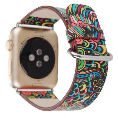 Retro Leather Watchband for Apple Watch 38mm