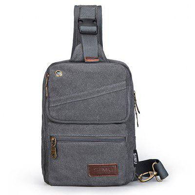 Buy LIGHT GREY SIMU Outdoor Fashion Multifunctional Shoulder Bag for $23.20 in GearBest store