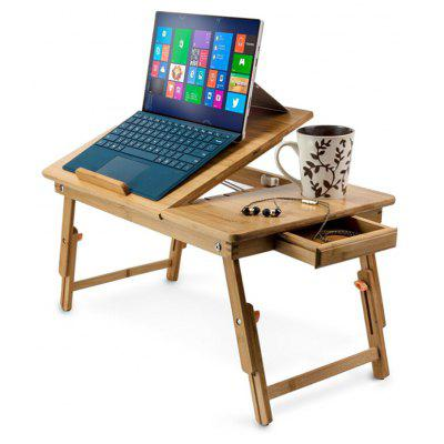 Folding Desk Adjustable USB Notebook PC Table Stand
