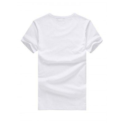 Women Round Neck USA Flag Print Short Sleeve T-shirtTees<br>Women Round Neck USA Flag Print Short Sleeve T-shirt<br><br>Clothing Length: Regular<br>Collar: Round Neck<br>Embellishment: 3D Print<br>Material: Cotton<br>Package Contents: 1 x T-shirt<br>Package size: 26.00 x 20.00 x 1.00 cm / 10.24 x 7.87 x 0.39 inches<br>Package weight: 0.2400 kg<br>Product weight: 0.1950 kg<br>Season: Summer<br>Sleeve Length: Short Sleeves<br>Style: Casual