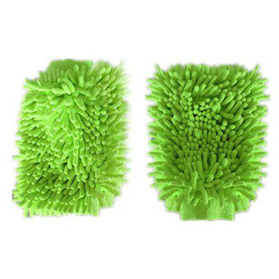 Car Cleaning Chenille Fiber Gloves