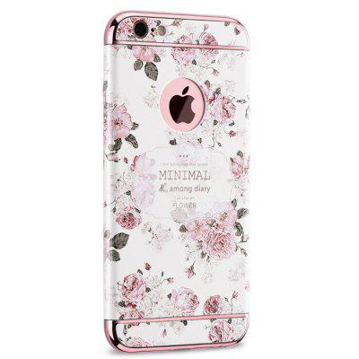 Buy COLORFUL AND WHITE Modern Floristic Design Phone Cover Case for iPhone 6 Plus for $14.91 in GearBest store