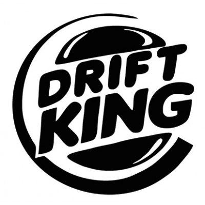 Cool Fashion Drift King Car Stickers