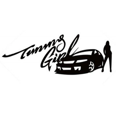 Tuning Girl and Sexy Lady Car Stickers