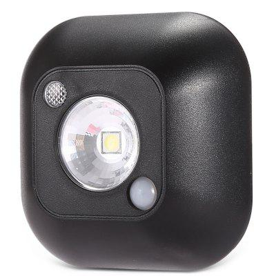 6000K 60Lm Motion Activated Light Sensor LED Night LightWall Lights<br>6000K 60Lm Motion Activated Light Sensor LED Night Light<br><br>Bulb Included: Yes<br>CCT/Wavelength: 6000K<br>Illumination Field (sq.m.): 1-5sqm<br>Optional Light Color: White<br>Package Contents: 1 x LED Night Light<br>Package size (L x W x H): 9.00 x 9.00 x 3.50 cm / 3.54 x 3.54 x 1.38 inches<br>Package weight: 0.0800 kg<br>Product size (L x W x H): 7.00 x 7.00 x 2.40 cm / 2.76 x 2.76 x 0.94 inches<br>Product weight: 0.0400 kg<br>Shade Material: PVC<br>Type: Night Light