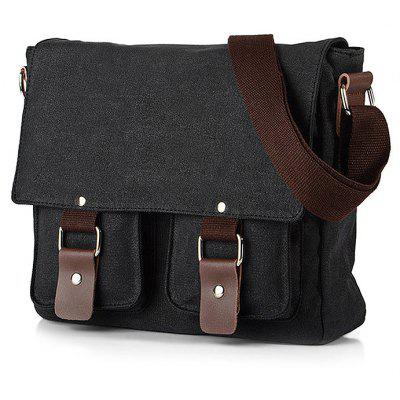 Casual Canvas Satchel Men Sling Bag